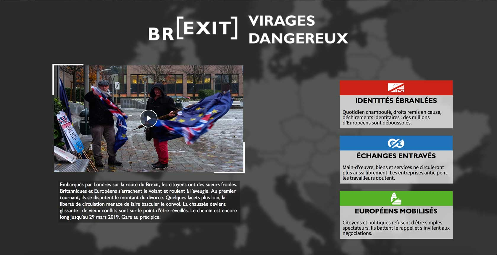 Projet Webdocumentaire Brexit